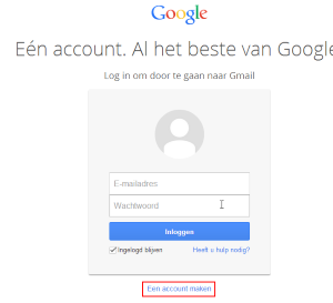 Gmail account maken